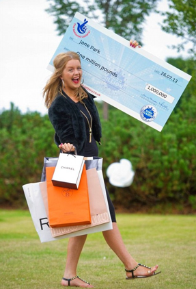Jane Park, youngest EuroMillions winner